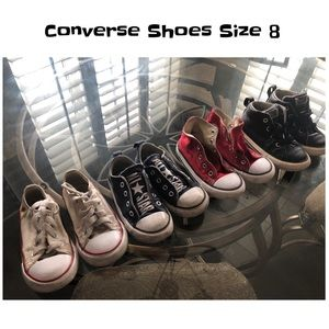 Converse Shoes Lot of 4